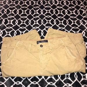 American Eagle Outfitters Shorts - Tan Cargo Shorts AE